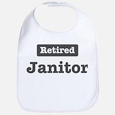 Retired Janitor Bib