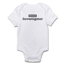 Retired Investigator Onesie
