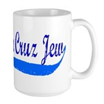 Santa Cruz Jew Uniform-Style Large Mug