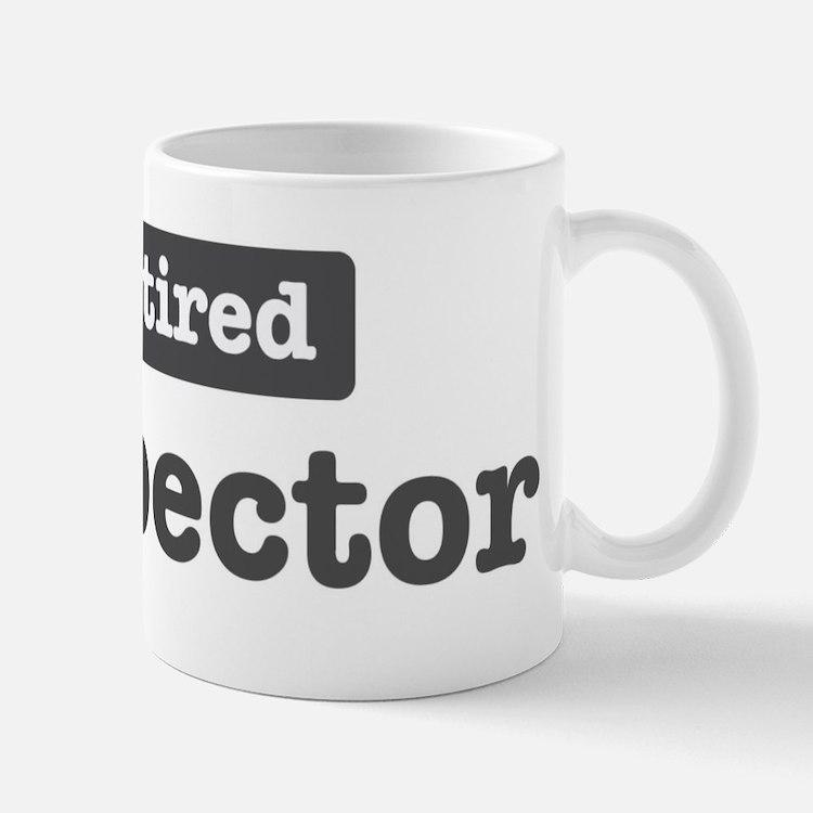 Retired Inspector Mug