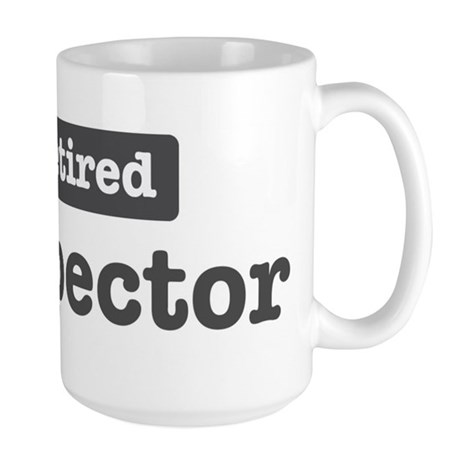 Retired Inspector Large Mug
