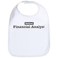Retired Financial Analyst Bib