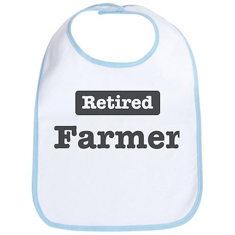 Retired Farmer Bib