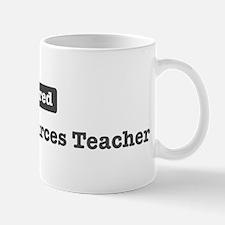 Retired Human Resources Teach Mug