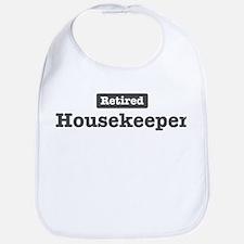 Retired Housekeeper Bib