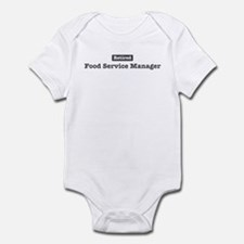 Retired Food Service Manager Infant Bodysuit
