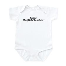 Retired English Teacher Infant Bodysuit