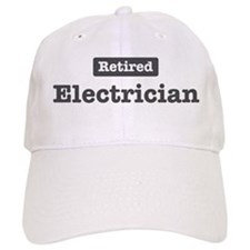 Retired Electrician Baseball Cap