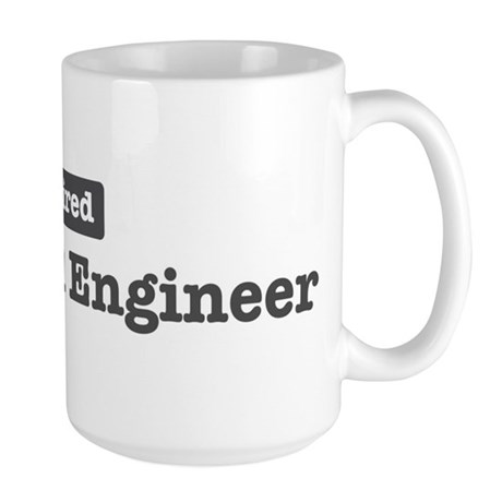 Retired Electrical Engineer Large Mug