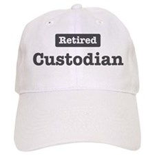 Retired Custodian Baseball Cap