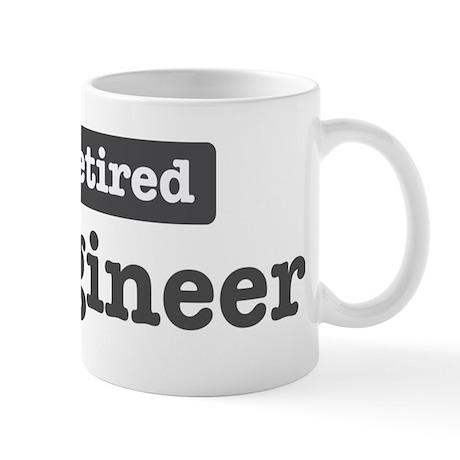 Retired Engineer Mug