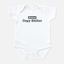 Retired Copy Editor Infant Bodysuit