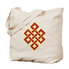 Traditional Endless Knot Tote Bag