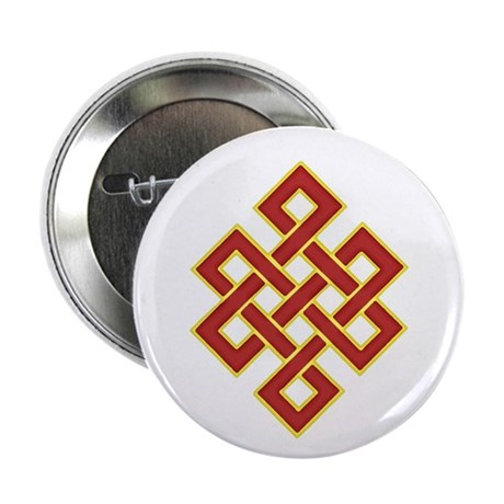 "Traditional Endless Knot 2.25"" Button"