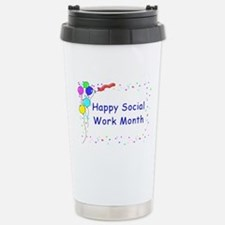 Happy SW Month Stainless Steel Travel Mug