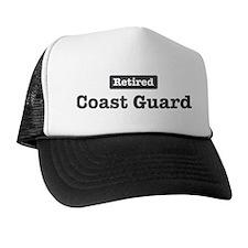 Retired Coast Guard Trucker Hat