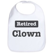 Retired Clown Bib