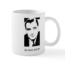"""Joe Mccarthy """"He Was Right"""" Mugs"""