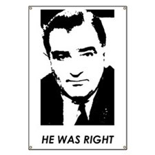 "Joe McCarthy ""HE WAS RIGHT"" Banner"