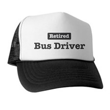 Retired Bus Driver Trucker Hat