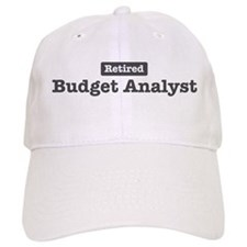 Retired Budget Analyst Baseball Cap