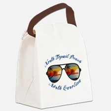 North Carolina - North Topsail Be Canvas Lunch Bag