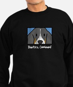 Anime Bluetick Coonhound Sweatshirt