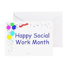 Happy Social Work Month Invitation