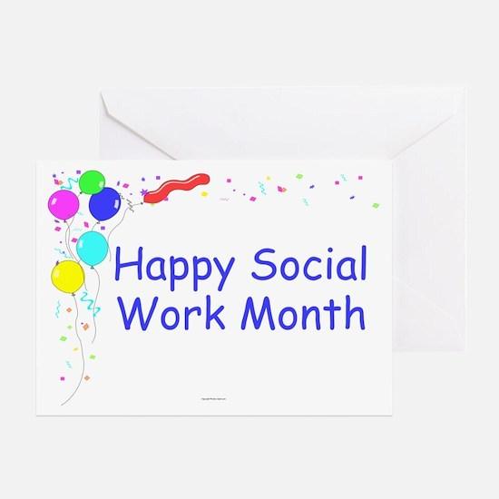 Happy SW Month Appreciation Greeting Card