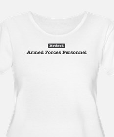 Retired Armed Forces Personne T-Shirt
