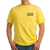 308 Mens Classic Yellow T-Shirts