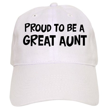 Proud to be Great Aunt Cap