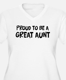 Proud to be Great Aunt T-Shirt