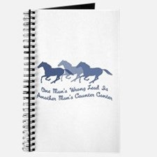 Wrong Lead or Counter Canter Journal