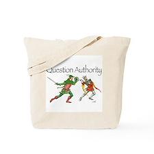 Robin vs Guy Tote Bag