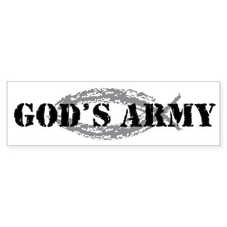 God's Army Bumper Sticker