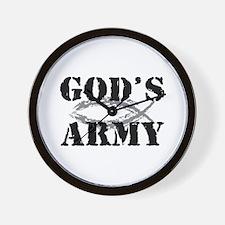 God's Army Wall Clock