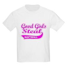 Good Girls Steal (pink) T-Shirt