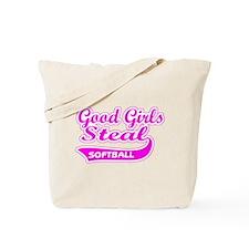 Good Girls Steal (pink) Tote Bag
