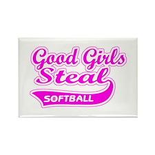Good Girls Steal (pink) Rectangle Magnet