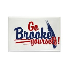 Go brooke yourself - Rectangle Magnet