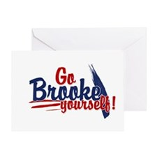 Go brooke yourself - Greeting Card