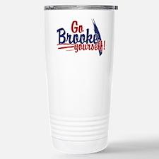 Go brooke yourself - Travel Mug