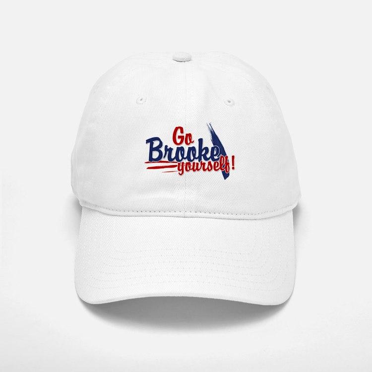 Go brooke yourself - Baseball Baseball Cap