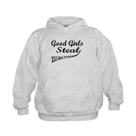 Good Girls Steal (urban) Kids Hoodie