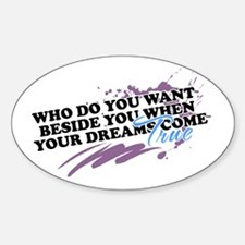 Dreams - Oval Decal