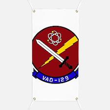 VAQ 129 Vikings Banner