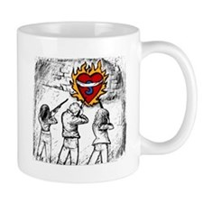 Flaming Heart - Mug