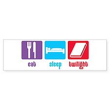 Eat Sleep Twilight Bumper Bumper Sticker