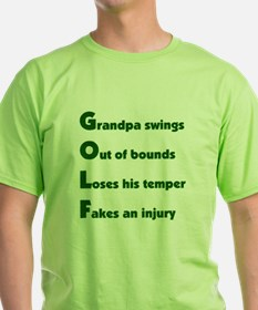 Grandpa Golf 2 T-Shirt